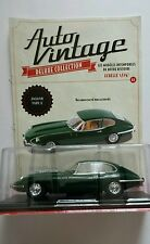 VOITURE MINIATURE 1/24 JAGUAR TYPE E COLLECTION AUTO VINTAGE NEUF