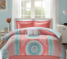 Coral Full Bed in a Bag Set