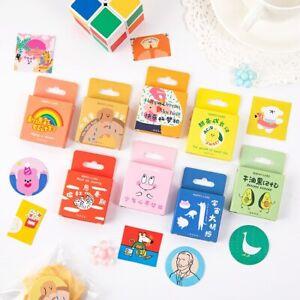Life Adventure Cartoon Stickers 45pc Mo Card planner journal diary cute sticker