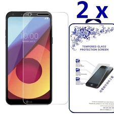 [2 Pack] For LG Q6 Plus Q6+ Tempered Glass Screen Protector