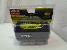 Ryobi 40V Lithium-Ion High Capacity Battery ( Brand New) Model # Op40401