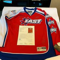 2009 NHL All Star Game Team Signed Jersey Alex Ovechkin Malkin Staal JSA COA