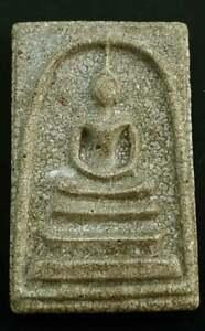 Old Thai phra somdej toh amulet Thailand buddha Wat rakang poweful talisman