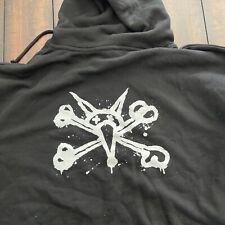 Powell Peralta - Vato Rat Bones - Hoodie Skateboard Hoody - Black Xl New