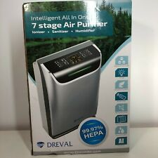 DREVAL HEPA 7 STAGE AIR PURIFIER HUMIDIFIER D-950