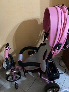 Triciclo ROSA- Bicicletta  per Bambini da 9 Mesi a 5 Anni (SOLO RITIRO A MANO!!!