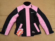 """FIGO Ladies Textile Motorbike / Motorcycle  Jacket Size UK  8 (  32"""" chest) #h63"""