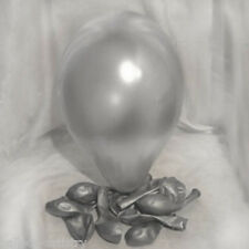 10 latex pearl silver balloon wedding party helium air