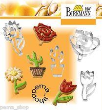 RBV Birkmann Ausstechform Sonnenblume Edelstahl 6 Cm