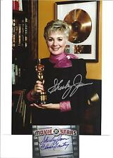 """2"" SHIRLEY JONES AUTOGRAPHS. ""ELMER GANTRY OSCAR"". SIGNED IN PERSON W/ PHOTOS."