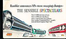 1965 Rambler American Ambassador Sales Brochure