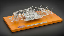 1960 MASERATI TIPO 61 BIRDCAGE SPACEFRAME 1/18 DIECAST MODEL BY CMC 122