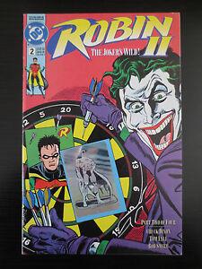 Robin II the Joker's Wild #2 FN/VF DC 1991 Batman Hologram Mini Series (C0403)