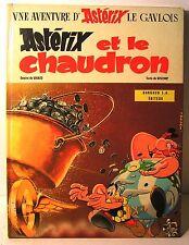 """BD astérix """" et le chaudron """" EO 1°tri 1969"""