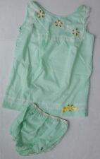 New w/o Tags 2 Piece Vintage Katz Babydoll Pajamas Bloomers/Top Lace Trim - Xs