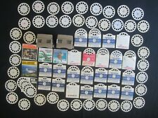 Vintage VIEW-MASTER Viewer Reels Booklets DISNEY Travel VIEWMASTER Photo's LOT