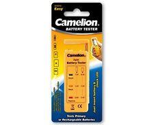 Camelion Batterietester Universal für AAA,AA,C,D und 9V-Batterien und Akkus