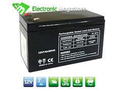 Batteria Ermetica Ricaricabile al Piombo 12V Volt 7AH 7,2AH 7,5AH UPS antifurto