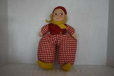 "Price Reduced Vintage Norah Wellings - 13"" Dutch Cloth Doll - Wind-Up Lullaby"