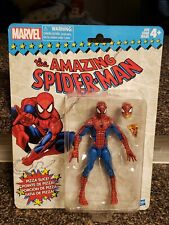 Marvel Legends Vintage Retro Pizza Spider-Man New  In Box Good Card