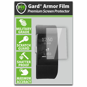 gard for FITBIT Charge 2 / II SCREEN PROTECTOR Military Shield - Pack of 6