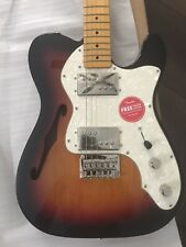 Fender Classic Vibe '70s Telecaster Thinline Electric Guitar - 3-Color Sunburst