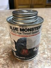 New listing Blue Monster Ptfe Pipe Thread Sealant 1/2 Pint (8 Fl.oz) New Fast Shipping