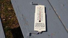 1974 Farmers & Merchants State Bank Appleton Minnesota Thermometer