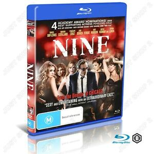 Nine : Movie / Film : Brand New Blu-ray