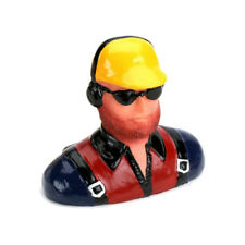 Hangar 9 1/6 Pilot Beard, Headphones, Sunglasses, Black/Red Shirt: HAN9118