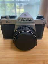 Pentax K1000 35mm With Pentax SMC 50mm F2