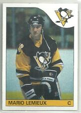 Mario Lemieux 1985-86 Topps Pittsburg Penguins RC ROOKIE Card #9