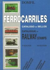 DOMFIL: FERROCARRILES. Catalogue of Railway Stamps (1. Aufl.)