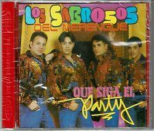 Los Sabrosos del Merengue  Que Siga elParty   BRAND NEW SEALED CD