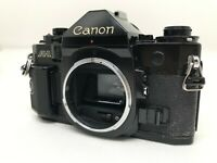 """EXC+++++"" Canon A-1 35mm SLR Film Camera Black Body From Japan #1448"