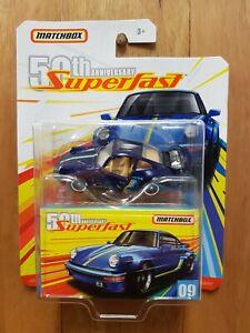 MATCHBOX 50th ANNIVERSARY SUPERFAST ~ #09 '80 PORSCHE 911 TURBO