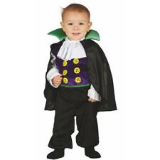 Baby & Toddler Count Dracula Vampire Halloween Fancy Dress Babygrow Outfit