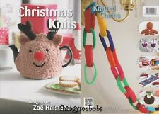 KING COLE CHRISTMAS KNITS BOOK 2 ORIGINAL KNITTING PATTERNS - 9 PATTERNS