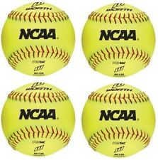 "New Worth Ncaa 4 count 12"" training/practice softballs softball soft ball Nc12S"
