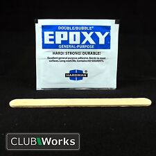 High impact high strength shafting epoxy sachet - Golf shaft glue/adhesive 3.5g