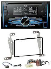 JVC MP3 USB CD 2DIN AUX Autoradio für Nissan Juke (2010-2014)