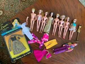 Vintage Topper Dawn 8 Doll Lot #2 Dawn, Angie Jessica etc