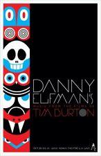 2013 DANNY ELFMAN'S MUSIC FILMS TIM BURTON LOS ANGELES CONCERT POSTER 10/29 3031