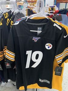 Juju Smith-Schuster Pittsburgh Steelers #19 Black NFL Nike Youth Jersey All Size