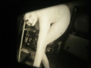 1950s Vintage 16mm film .. model ,  ....   # 1007