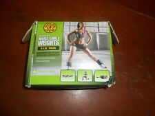 Golds Gym 5lb. Ankle Wrist Weights Adjustable new open box