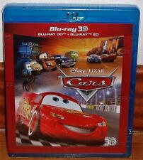 CARS COMBO BLU-RAY 3D+BLU-RAY NUEVO PRECINTADO DISNEY ANIMACION (SIN ABRIR) R2