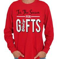 Tis The Season Funny Shirt Cool Gift Christmas Santa Claus Long Sleeve TShirt