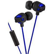 JVC HA-FR201 Xtreme Xplosives In Ear Stereo iPhone Headphones Remote & Mic Blue