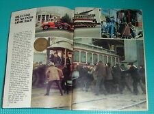 "1977 TV ARTICLE~BOSTON TROLLEY CAR NO.396 PBS SERIES ""THE BEST OF FAMILIES"""